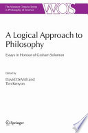 A Logical Approach to Philosophy