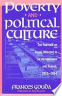 Poverty and Political Culture Book