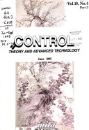 Control Theory and Advanced Technology