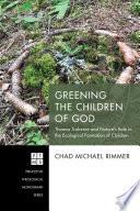 Greening the Children of God Book