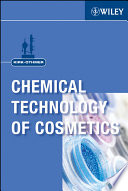 Kirk Othmer Chemical Technology Of Cosmetics Book PDF