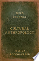 The Field Journal for Cultural Anthropology Book
