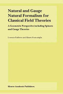 Natural and Gauge Natural Formalism for Classical Field Theorie
