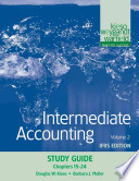 Intermediate Accounting, Study Guide, Volume 2: Chapters 15-24