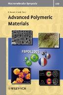 Advanced Polymeric Materials Book