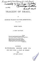 The Tragedy of Israel