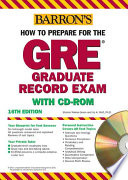 How to Prepare for the GRE with CD-ROM