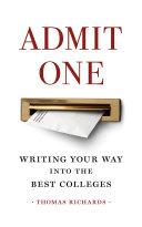 Admit One ebook
