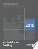 Yardsticks for Costing - Canadian Construction Cost Data