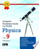 Complete Foundation Guide For IIT Jee Physics For Class Ix.epub