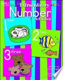 Mrs  E s Extraordinary Number Activities Book