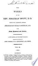 The Works Of The Rev Jonathan Swift D D