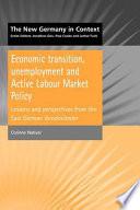 Economic Transition Unemployment And Active Labour Market Policy