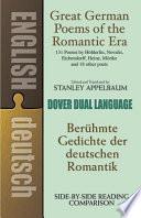 Berühmte Gedichte Der Deutschen Romantik Stanley Appelbaum