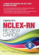 Lippincott s NCLEX RN Review Cards