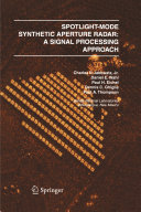 Spotlight-Mode Synthetic Aperture Radar: A Signal Processing Approach Pdf/ePub eBook