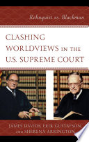 Clashing Worldviews in the U S  Supreme Court Book