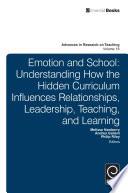 Emotion and School