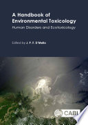 A Handbook of Environmental Toxicology Book