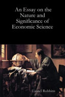 Pdf An Essay on the Nature and Significance of Economic Science Telecharger