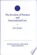 The Invasion Of Panama And International Law