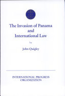 Pdf The Invasion of Panama and International Law