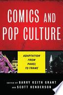 Comics And Pop Culture