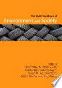 The SAGE Handbook of Environment and Society Book