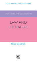 Advanced Introduction To Law And Literature