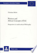 Plotinus And African Concepts Of Evil