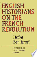 English Historians on the French Revolution