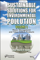 Sustainable Solutions for Environmental Pollution Book