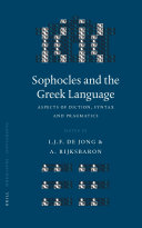 Sophocles and the Greek Language