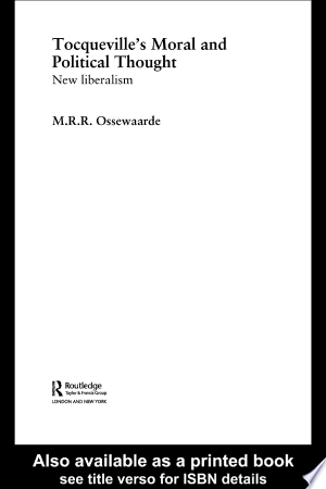 Download Tocqueville's Political and Moral Thought Free Books - EBOOK