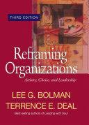 Reframing Organizations Pdf/ePub eBook