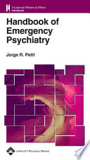 Handbook of Emergency Psychiatry