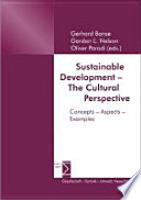 Sustainable Development The Cultural Perspective Book PDF