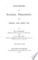 Handbook Of Natural Philosophy Book PDF