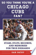 So You Think You re a Chicago Cubs Fan  Book PDF