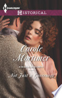 Not Just a Governess Book