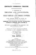 Hertslet s Commercial Treaties