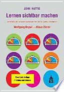 """Lernen sichtbar machen  : Überarbeitete deutschsprachige Ausgabe von """"Visible Learning"""""""