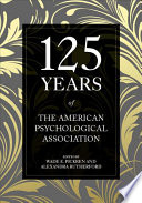 125 Years of the American Psychological Association