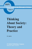 Thinking about Society  Theory and Practice