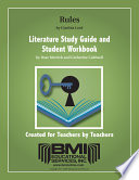 Rules Study Guide and Student Workbook