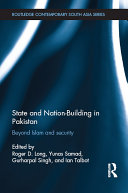 State and Nation-Building in Pakistan Pdf/ePub eBook