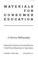 Materials for Consumer Education