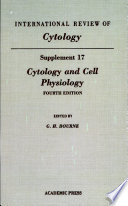 Cytology and Cell Physiology  Supplement 17