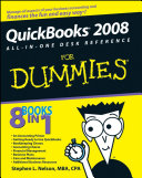 QuickBooks 2008 All in One Desk Reference For Dummies