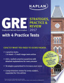 GRE 2017 Strategies, Practice & Review with 4 Practice Tests  : Online + Book